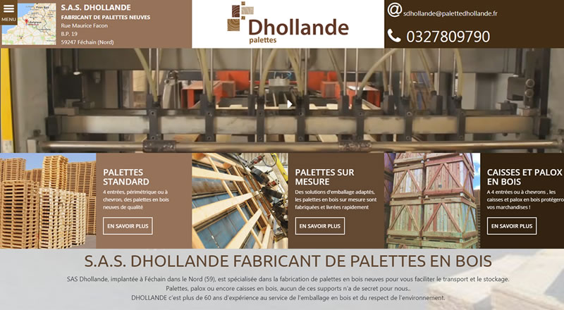 site dhollande 800 440